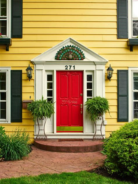 yellow house with red door yellow house red door yellow house red door beauteous best