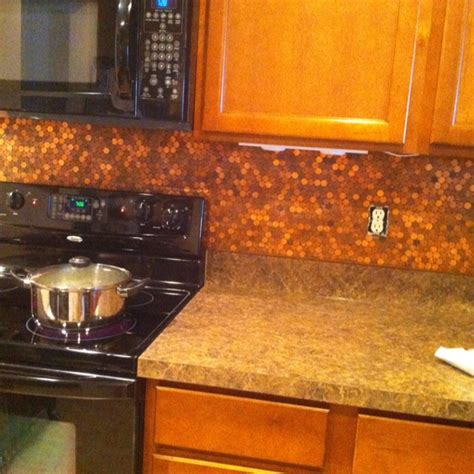 my dream home com penny backsplash my dream home pinterest