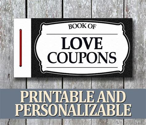printable love coupons pdf 13 best images about jimmie s valentine on pinterest