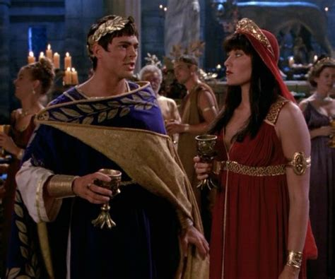 lucy lawless family tree lucy lawless as xena and karl urban as julius caesar