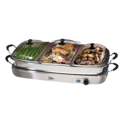 109 Best Images About Baby Shower Ideas On Pinterest Elite Platinum Stainless Steel Buffet Server