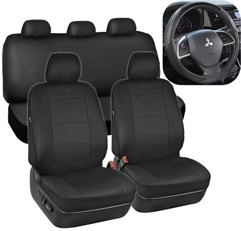 suv seat covers black synthetic leather seat covers for car suv auto w
