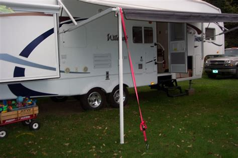 power awning rv net open roads forum power awning tie down