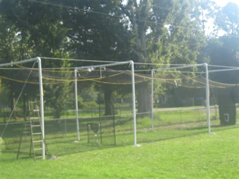 how to build a batting cage in your backyard diy batting cage donttouchthespikes com