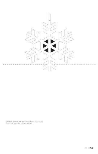 snowflake pop up card template 1000 images about template on