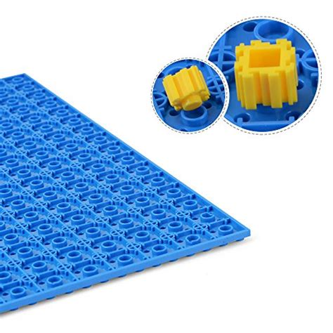 Lego Nano Block Base Plate 10 X 10 Kode Tr5730 4 nextx 2pack brick baseplates compatible with lego brick building toys 10 x 10 thickening