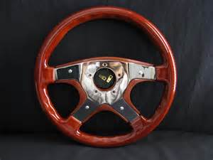 Steering Wheels Custom Made New 14 Quot Custom Mahogany Wood Grain Steering Wheel Ebay