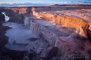 Flagstaff Snowfall grand falls arizona dan sorensen photography