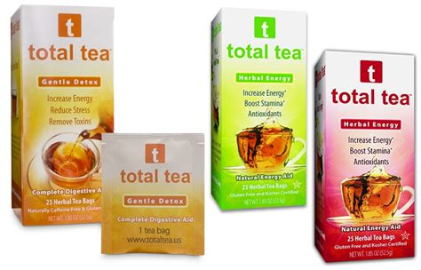 Detox Tea Diarrhea by Total Tea Gentle Detox Herbal Energy Evanston