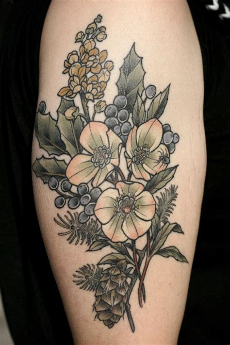 oregon tattoos 17 best images about botanical on cactus print