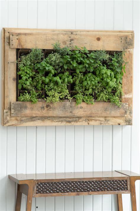 diy indoor herb vertical wall planter gardenoholic