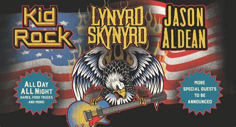 kid rock hometown lynyrd skynyrd playing hometown show with kid rock jason