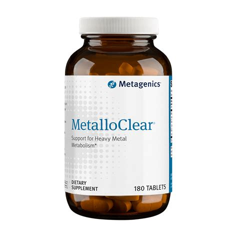 Metagenics Liver Detox Side Effects by Metalloclear 180 Tablets At Simplynutrients