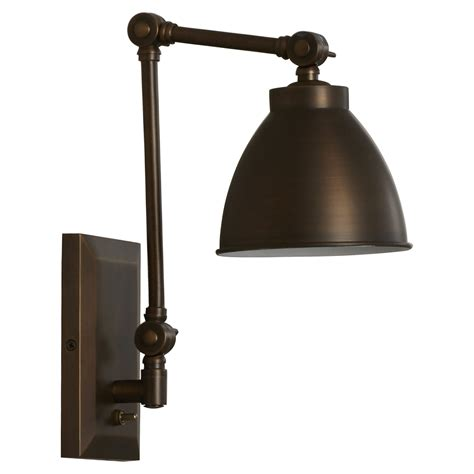 swing arm wall sconce trent design bluntleaf swing arm wall sconce