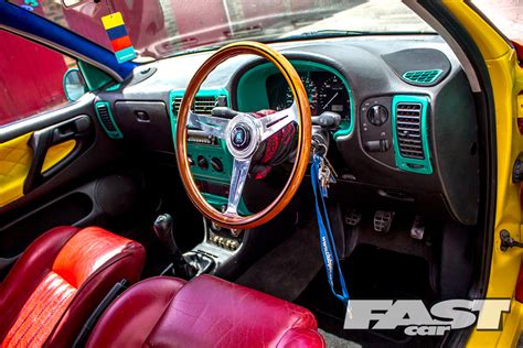 volkswagen harlequin interior modified harlequin vw polo fast car