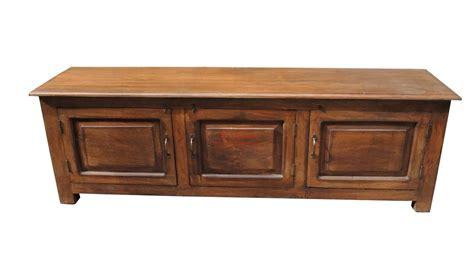 porta tv in legno massello mobile porta tv legno massello 3 ante or022 orissa