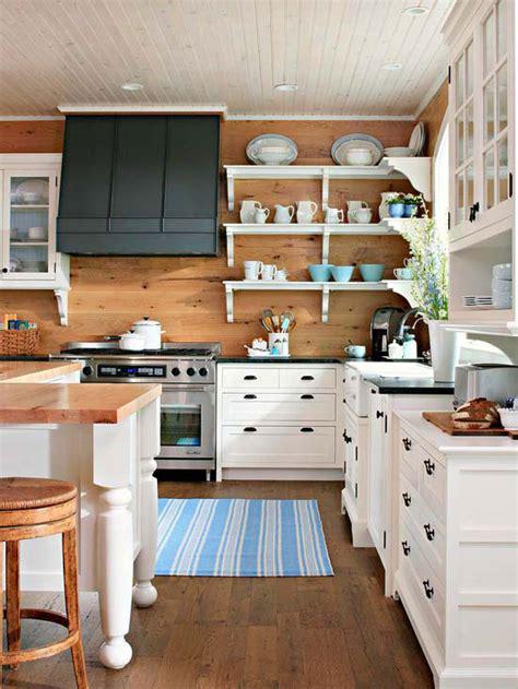 Wood Plank Kitchen