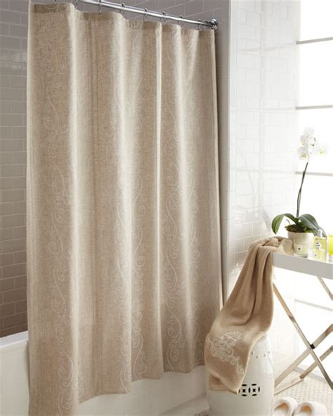 french shower curtain quot french perle quot shower curtain