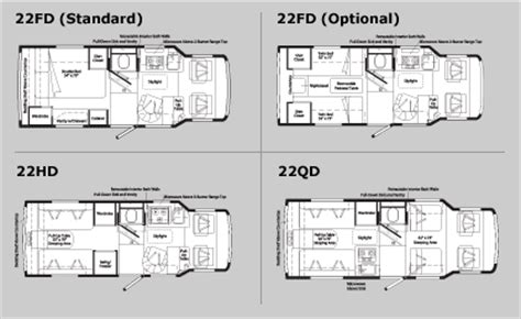 winnebago rialta rv floor plans image gallery rialta motorhome