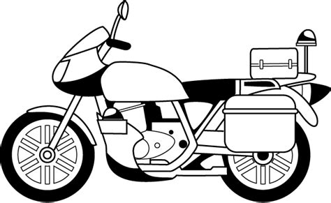 pin police motorcycle colouring pages on pinterest