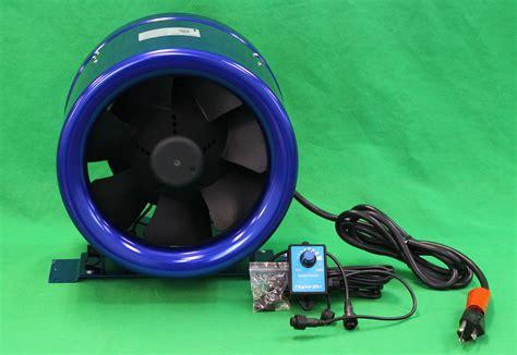 Hyper Fan 10 Inch Blower Exhaust Quietest Inline Hyperfan