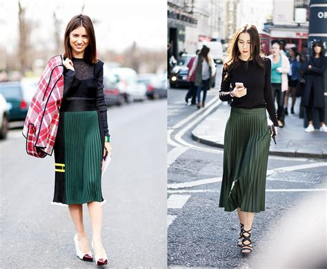 pleated skirt fashion agony daily fashion