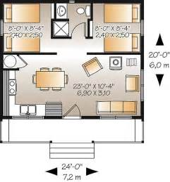 Builderhouseplans ideal simple cabin plan with low construction costs