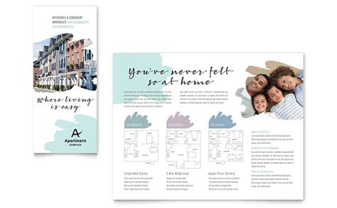 Apartment Brochure Templates apartment brochure template design