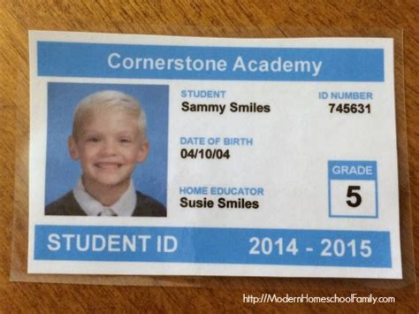 make a student id card fellowes laminator review giveaway modern homeschool