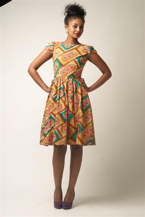 Ankara Dresses | ankara dress with cap sleeves african fashion pinterest