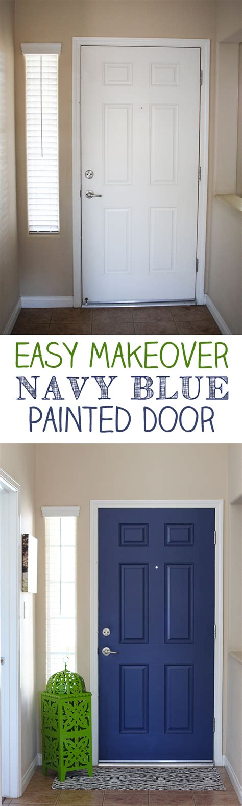 do you paint both sides of a front door the same color navy door paint both sides of your front door for a pop