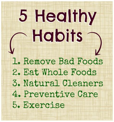 Healthy Habits Essay by 5 Healthy Habits For You Your Family Edition Healthy Healthy Living