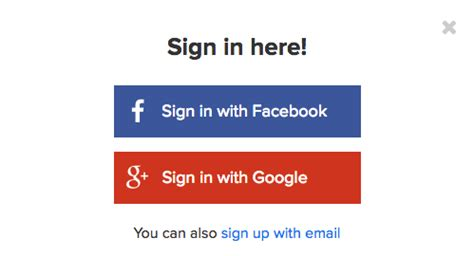 fb google signing in using social media logins binarytattoo