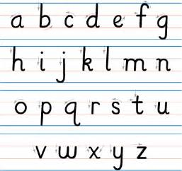 az letter templates handwriting letters a z hand writing square shaped a z letter chart templates alphabet printables org