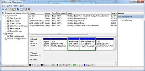 how to partition hard drive in windows 7 without formatting create a new partition on a windows 7 hard disk