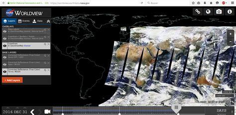 imagenes satelitales worldview nasa worldview visualiza en tiempo real las im 225 genes de