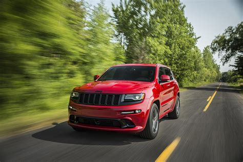 jeep srt 2015 2015 jeep grand cherokee srt adds 5hp red vapor special