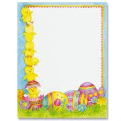 7 best images of easter border template free printable