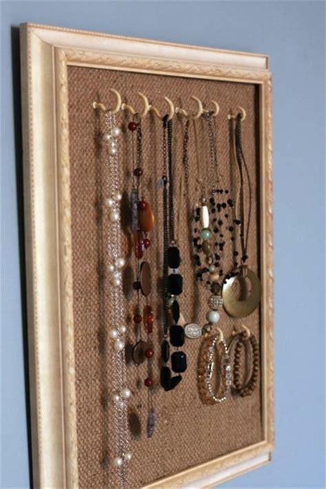 11 DIY Necklace Storage Ideas