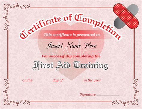 aid certificate template aid completion certificate template formal