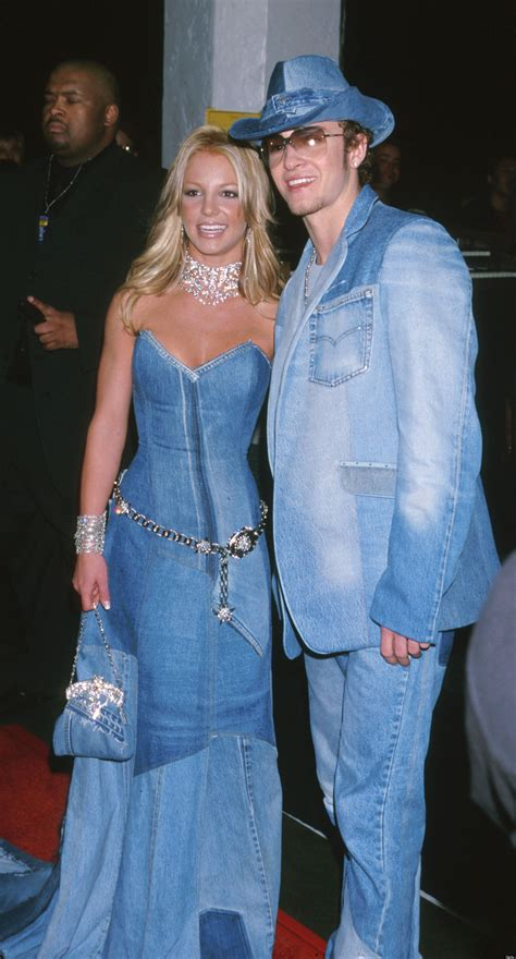 Would You Wear An All Denim Like On Project Runway Last by Justin Timberlake Marries Biel A Look Back At