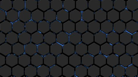 moving dark spheres  hexagon network loop ready