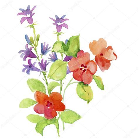 immagini fiori stilizzati acquerello di fiori stilizzati foto stock 169 olies 90504508