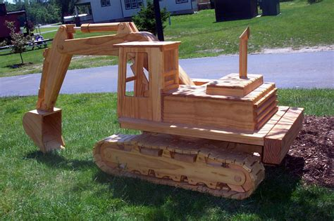small scale woodworking pdf diy plans for wooden excavator plans for