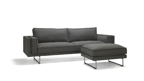 contemporary sofas atlanta contemporary black leather sofa