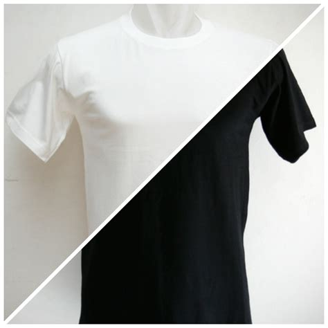Kaos Raglan Hitam Putih Kualitas Distro memaksimalkan kaos polos hitam dan putih untuk design kaos