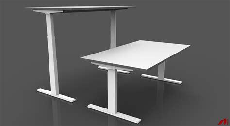 sit stand desk frame height adjustable sit stand desk frames bpfonline