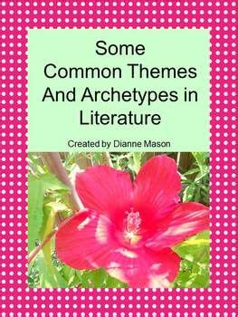 themes in literature pinterest literary themes creative writing classes and literature