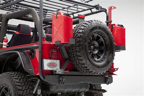 jeep body armor body armor 4x4 tj 2994black standard design rear bumper