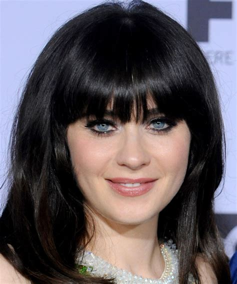 Zooey Deschanel Hairstyle by Zooey Deschanel Hairstyles In 2018